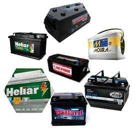 Batería de todo tipo y marcas