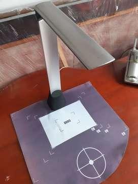 Lámpara pantalla LED con función de escáner scanner portátil y para escritorio USB