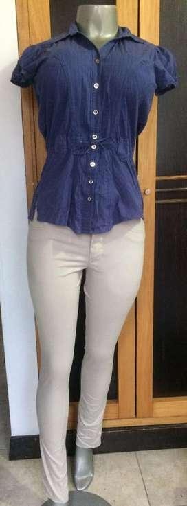Pantalon y blusa Talla S Mujer pantalones y blusas oficina