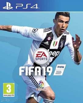 FIFA 2019 PS 4 PLAYSTATION 4 PLAY 4