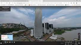 SUITE LINDA, DE LUJO, AMOBLADA. Vive en el Lugar mas Exclusivo de Guayaquil, Puerto Santa Ana, Edificio Bellini.