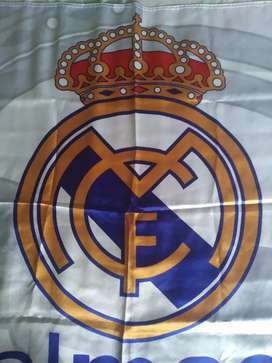 bandera del Real Madrid, original