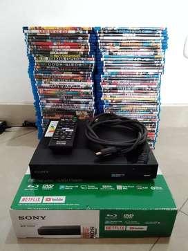 Blu-ray Sony, Wi-fi + 100 Películas