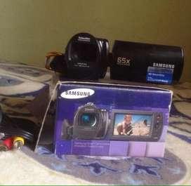 Filmadora camara Samsung