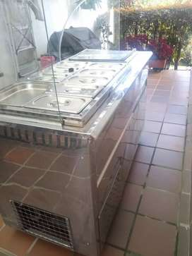 Ganga congelador de 2 puertas y refrigerador ideal para frutas