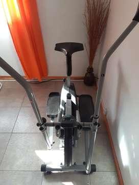 Escalador elíptico y bici fija
