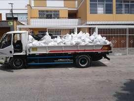 eliminación de desmonte y traslado de material y taxi carga