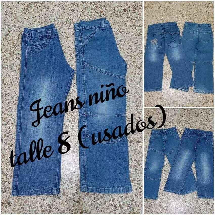 Jeans de niño (usados)