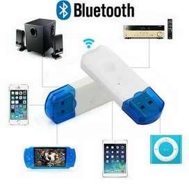BT Receptor audio estéreo Bluetooth USB carro hogar altavoz