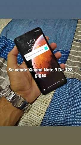 Vendo Xiaomi Note 9 de  128 gigas