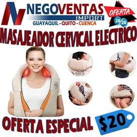 MASAJEADOR CERVICAL ELECTRICO