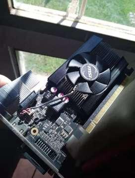 Placa de vídeo GT 710 DDR3 2GB