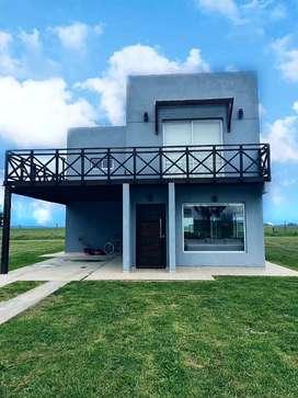 Alquilo por temporada y fin de semana largo  casa en barrio privado Costa del Sol mar chiquita