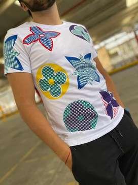 Camisetas masculinas 1605 louis vuitton envio gratis