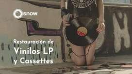 Digitalización de discos LP y Cassettes a CD - Vinilos - Pendrive - Restauración