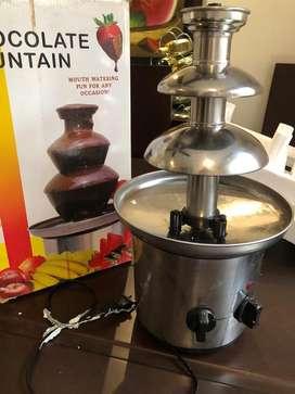 Fondue o fuente de chocolate