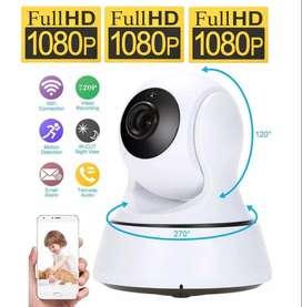 Camara Seguridad Robotica ip Vigilancia FULLHD 1080P WIFI CCTV Nueva
