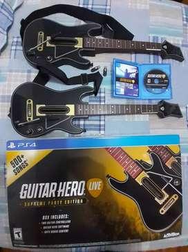 Juego Original Guitar Hero Live Para Ps4