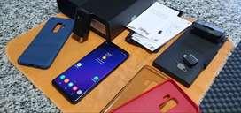 Samsung S9 Plus Poco Astillado Libre De Fábirca Completo