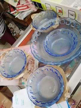 Ensaladeras color azul