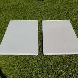 Colchoneta 1.5mt x 0.60mt x 3.5cm funda impermeable