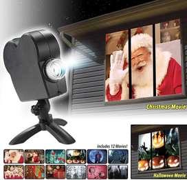 Proyector De Luces De Navidad Gruponatic San Miguel