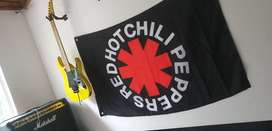 Red Hot Chili Peppers bandera póster