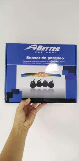 Sensores de reversa para parqueo carro