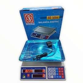 Bascula electrónica de 40kg