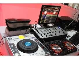 MEGA PRODUCCIONES DJ ALEX MUSICA LUCES FOTOS FILMACIÓN PANTALLA GIGANTE