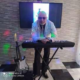 Show musical en vivo cantante ,organista guitarrista