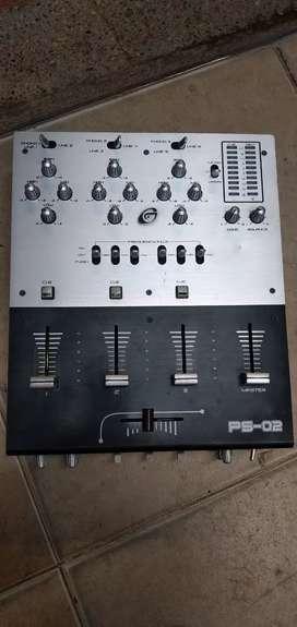 Mixer gemini  6 canales