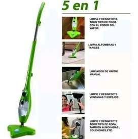 Mopa de Vapor, limpieza fácil Hogar 5en1.
