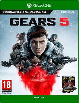 Gears 5 Xbox One, Físico