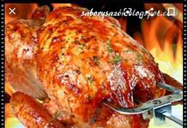 Receta exacta para pollo ala brasa
