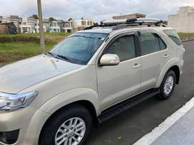 VENDO FLAMANTE FORTUNER