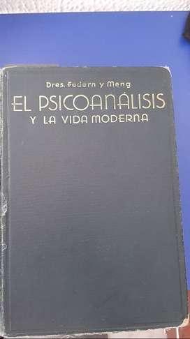 Libro Psicoanálisis y la vida moderna