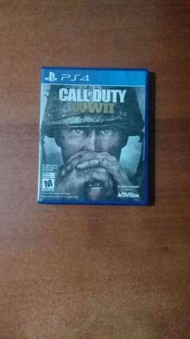 vendo call of duty WWII