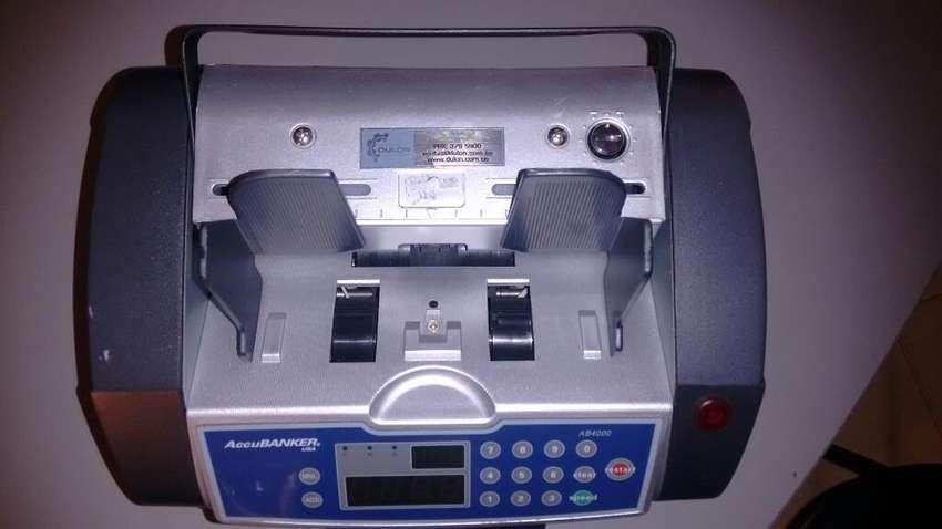 Contador Y Detector de Billetes Accbanke 0