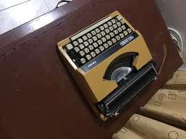 Máquina de escribir manual