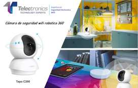 Cámara Wi-Fi Rotatoria de Seguridad para Casa  Tapo C200