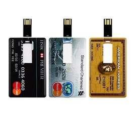 Usb tarjeta de credito 32gb nuevas, delivery gratuito