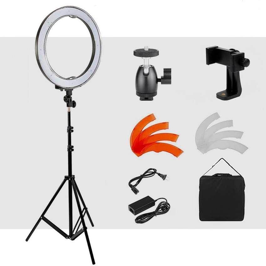 Aro de luz ring light profesional 0