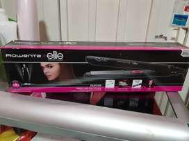 Plancha para cabello Rowenta for elite. 200 grados de temperatura
