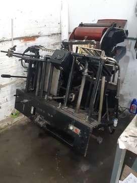 Remate de máquinas de imprenta