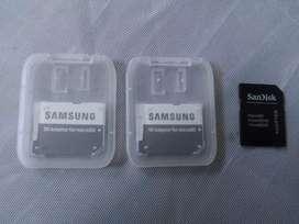 Adaptador SD para memoria Micro SD SanDisk