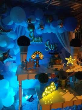 Decoración de fiestas y mobiliario