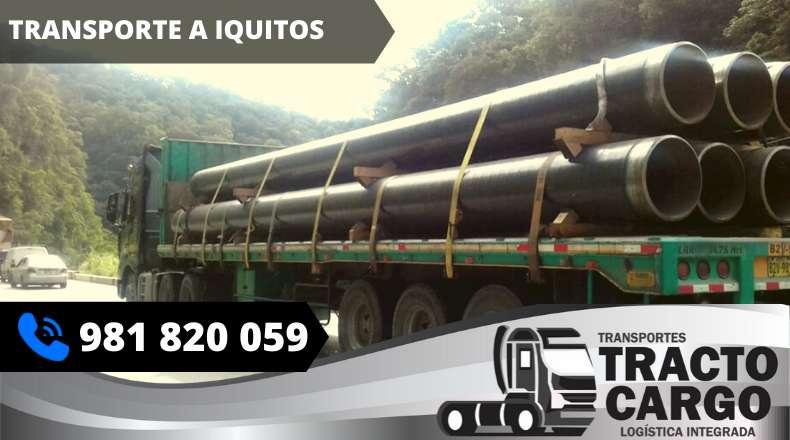 Transporte a Iquitos, Carga a Iquitos