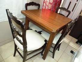 Mesa mas sillas acepto tarjeta de credito! flete a cargo del comprador1200