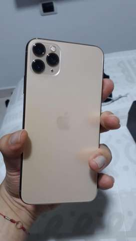 Iphone 11 pro max  64 gb dorado